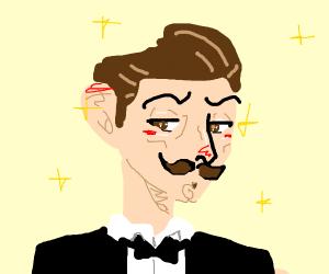 fancy anime guy