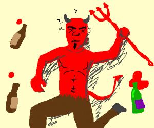 Hungover Satan