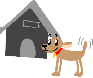 House for pet dog
