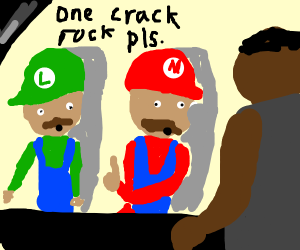 super mario brothers on crack
