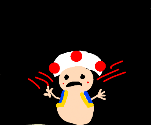 Angry Potato mushroom thingy from mario