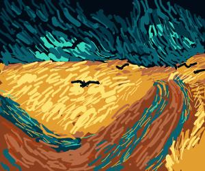 Van Gogh in Post-Impressionism Style