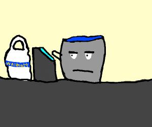Bucket Cashier