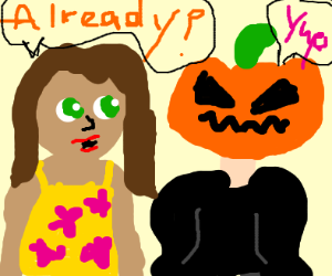 Time for Halloween already?