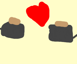 Toasters in love