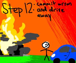 step11:drivetothewronghouseandforceyourwayin