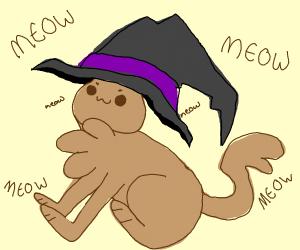 Halloween owo cat