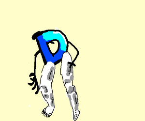 buff leg drawception