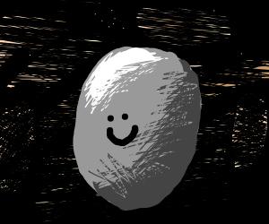 Happy meteorite