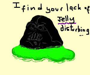 Darth Vader slime