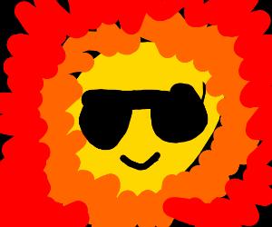 A cool sun