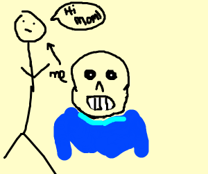 yo mama so old she is sans undertail