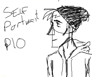 Self portrait PIO.