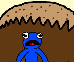 Cookie eating cookie monster