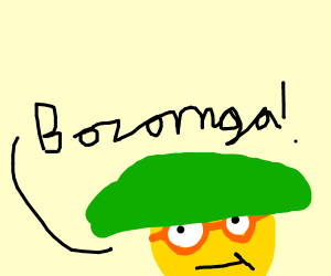 sheldon says: Bozornga!