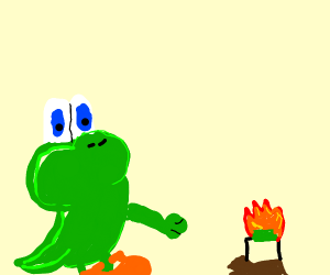 Yoshi Cannibalism