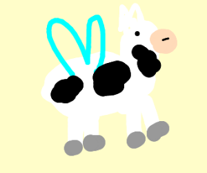 Cow with Wings