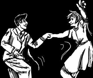 People dancin'