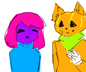 Drawception's Halloween mascots!