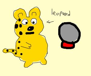 Leopard Fortune Teller