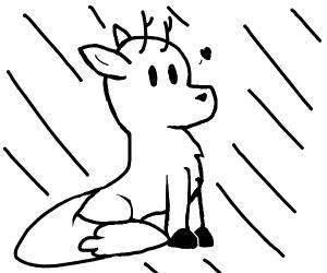 Deer fox (Hilda)