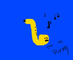 A thirsty saxophone