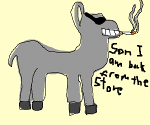 The donkey of your dreams