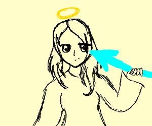 Dark Pit Kid Icarus Drawception