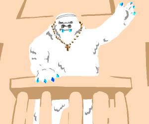 The Yeti Pope