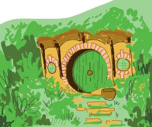 Bilbo bagin's house
