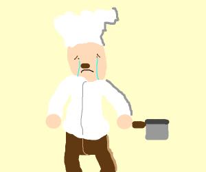 Sad Chef
