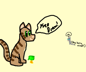 Leafpool saying free draw