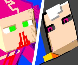 Minecraft Doppio vs. Risotto