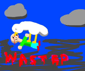 Caillou was killed by untitled geese