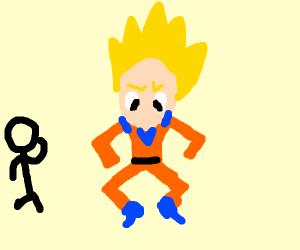 Goku & StickMan