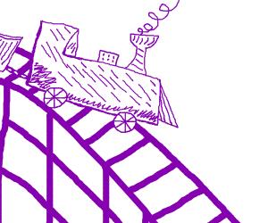 purple scribbles (possible derail)