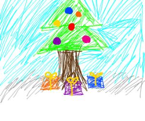 christmas outside