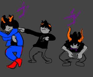 Homestuck character does Jojo dance
