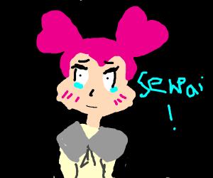 Spinel the schoolgirl