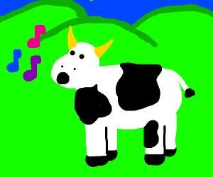 cows sings