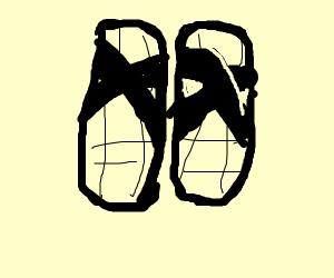 karate sandals
