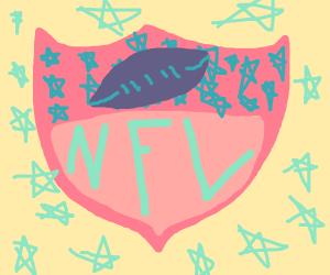 NFL logo, the girlie version
