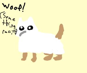 KKK dog (oof kkk)