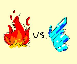 Fire vs Ice