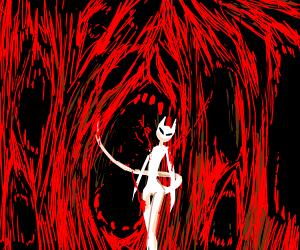 Giygas (from earthbound) - Drawception