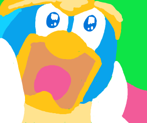 King dedede up close
