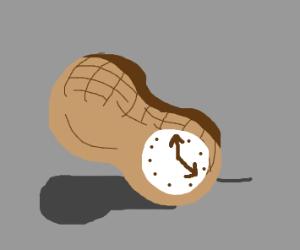Peanut clock