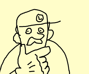 Luigi does Hit or Miss TikTok challenge