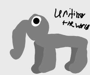 Elephant unites the world