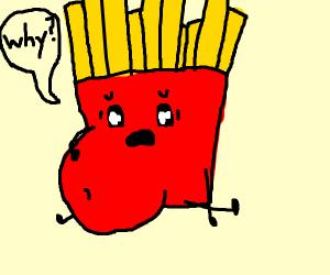pregnant fries